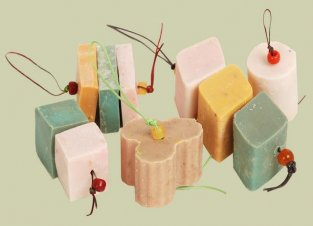 Pure olive oil soaps